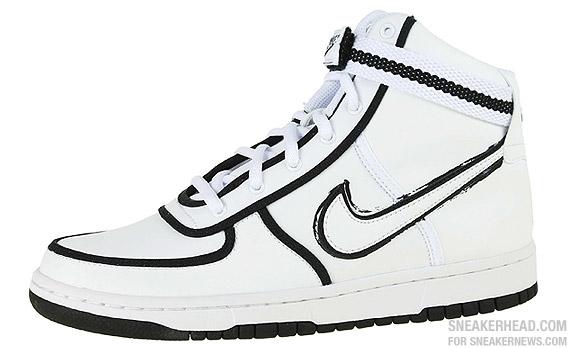 Nike Vandal High (GS) - White - Black - SneakerNews.com ea513a6c17ff
