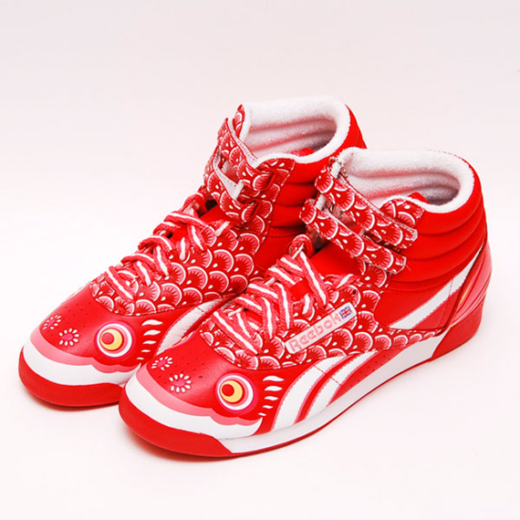 Reebok Freestyle - Koi Nobori Pack - SneakerNews.com 459a085e1e