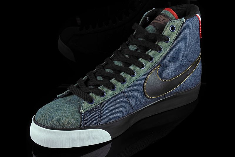 uk availability 95ac8 2df70 ... Nike Blazer High Premium - Selvage Denim Pack - Detailed Photos . ...