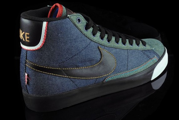 nike blazer selvage denim 2009