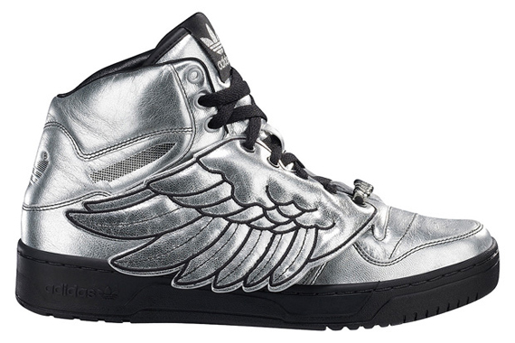 adidas jeremy scott wings Argent