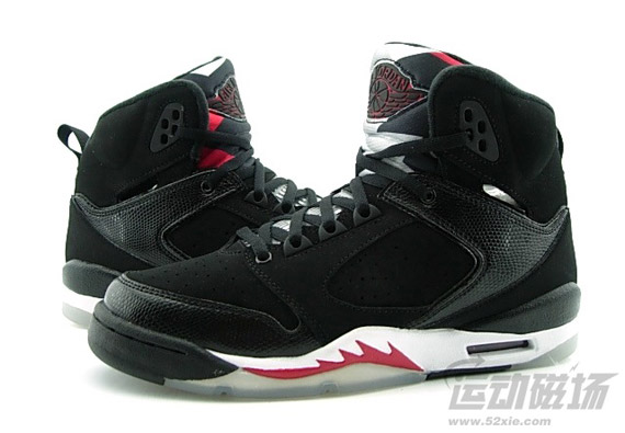 Air Jordan 60+ GS - Black - Varsity Red - White - SneakerNews.com 8eea37f334
