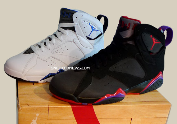 huge discount db8a9 2a311 Air Jordan VII 60+ Pack – Bulls vs. Magic – New Photos