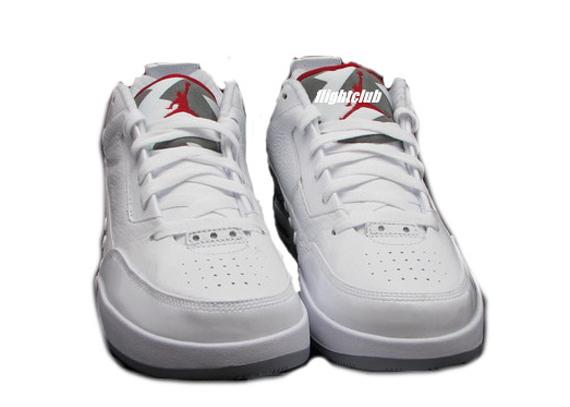 buy popular 30da3 ea0ea ... Fashion Mens Athletic Shoes NEW Nike Jordan Flipsyde Jumpman Size 8 034  323100 065 air-jordan-flipsyde-white-cement-red-2 ...