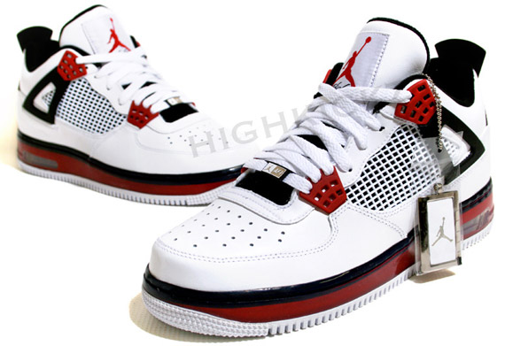 d35e7ae95e4 Air Jordan Force IV (AJF 4) - White - Varsity Red - Black -Available They  just started to hit retail, just spotted them on ebay. [ IMG]