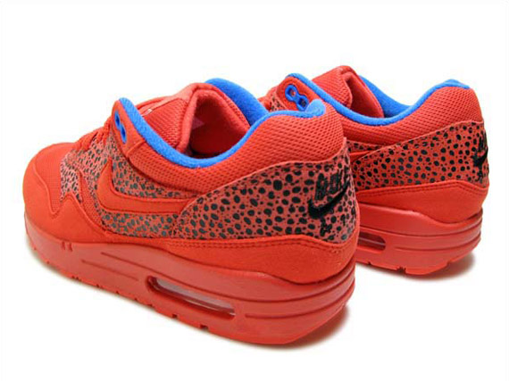 Nike WMNS Air Max 1 - Challenge Red - Blue Sapphire - Safari - SneakerNews.com