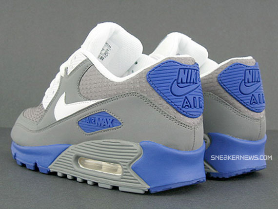 air max 90 grey and blue