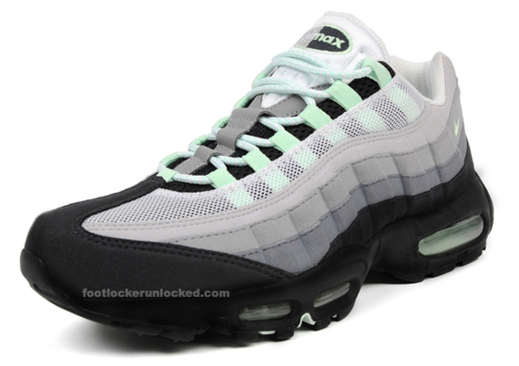 on sale 853c4 a4ff5 air max 95 mint green 2. Advertisement. By now, you have probably already  seen our preview of this latest version of the Air Max 95 ...