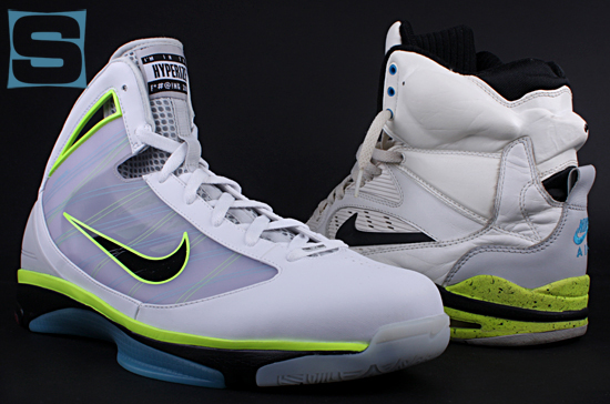 pretty nice 28105 f54e8 Nike Hyperize - Billy Hoyle - Air Command Force Comparison ...