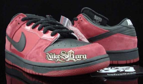 big sale 74a70 836e4 Nike Dunk Low Pro SB - Milli Vanilli - Varsity Crimson ...