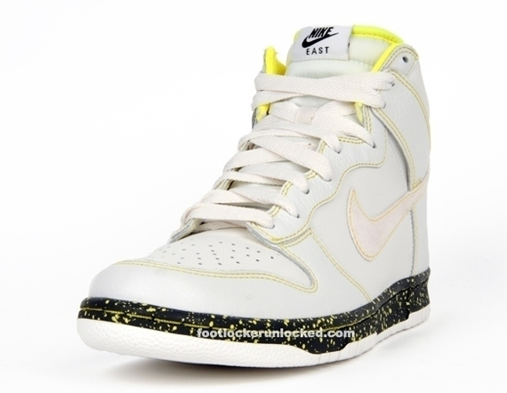 f618b4c463d3 Nike Dunk High East - Swan - Anthracite - Volt Yellow - October  09 ...