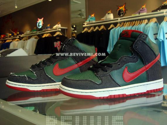 buy online 33463 78c17 Nike Dunk High Pro SB - Gucci 2009 QS - Holiday '09 ...