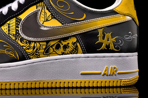 hot sale online 7fddc 4ee46 ... Nike Sportswear x LIVESTRONG x Mister Cartoon Air Force 1 ...