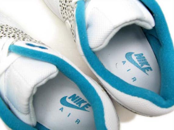 Womens Safari Air 1 Glass Nike White Blue Max BdeQCorWx