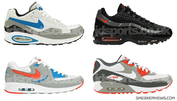 brand new 8e49c 161ef Nike Air Max - JD Sports Exclusives - August Releases - SneakerNews.com