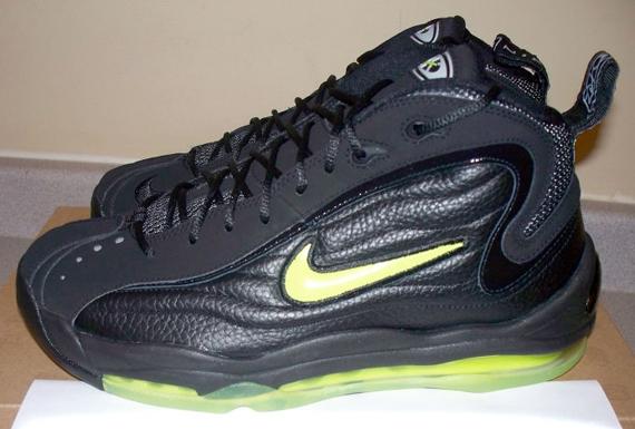 20e13e58fd5 Nike Air Total Max Uptempo - Black - Volt - Now Available ...