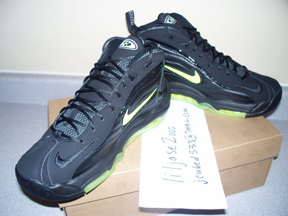 torre Editor eternamente  Nike Air Total Max Uptempo - Black - Volt - Now Available ...