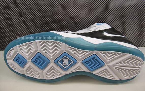 731ad5effed Nike Zoom LeBron Soldier III - Black - White - Baltic Blue - Now ...