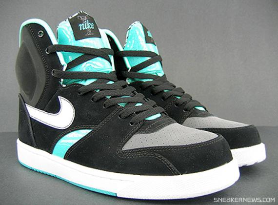 df89460984fc6 Nike RT1 High - Black - Azure - Dark Grey - Available - SneakerNews.com
