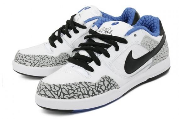 best sneakers 054c9 34b19 Nike SB P-Rod 2 Premium – White – Cement – True Blue