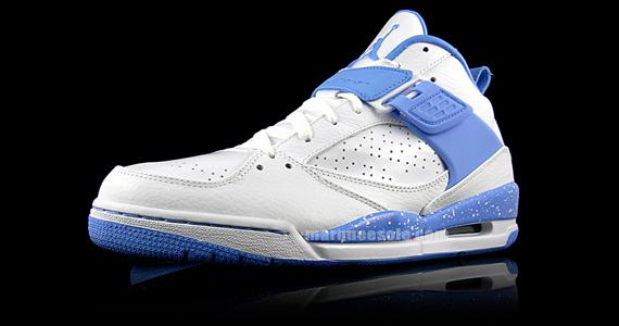 3e65295875f13a Air Jordan Flight 45 - White - Carolina Blue - SneakerNews.com