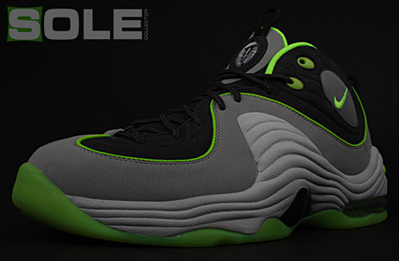 san francisco 9e24e 7be9b To help celebrate Sole Collector s 5th anniversary, Nike Sportswear created  a very special colorway of the Nike Air Penny II to mark the occasion.