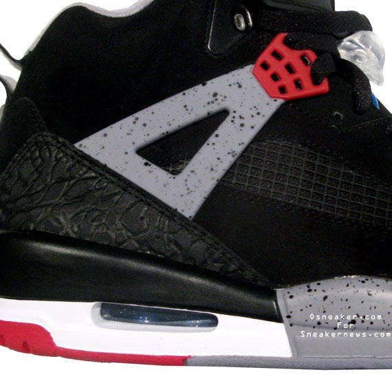 sports shoes 1cf1f 0b857 spizikes-black-red-white-02a. To the surprise of pretty much no one, this  latest Air Jordan ...