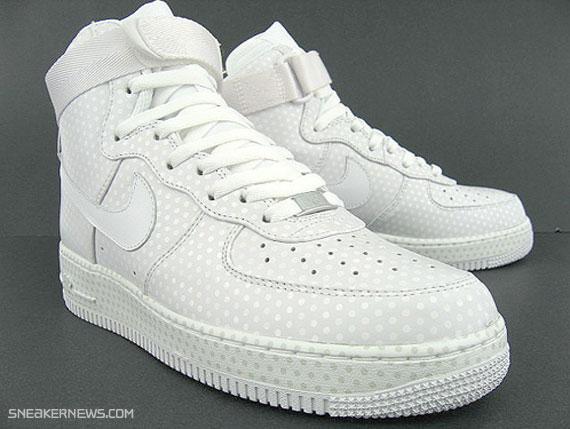 all white air force 1 high