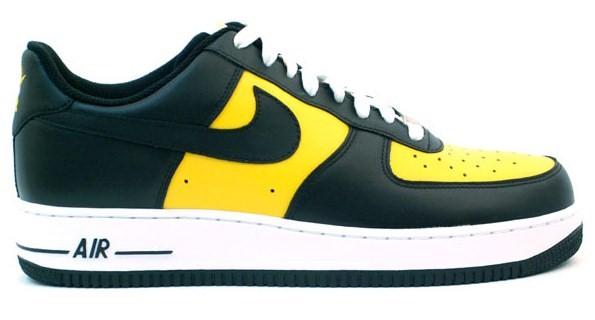Nike Air Force 1 Low - Black - Yellow