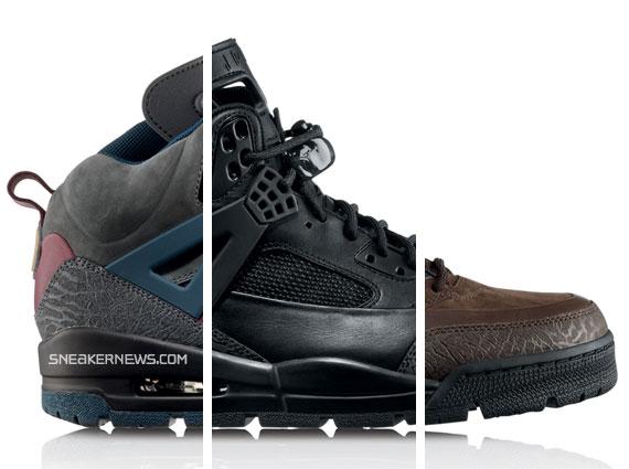 Nike Air Jordan Bottes Hivérisé Spizike Avec La Fourrure