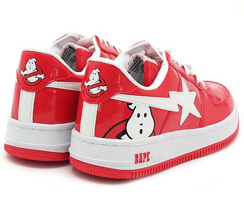 Ghostbusters x A Bathing Ape (Bape) Bapesta - SneakerNews.com