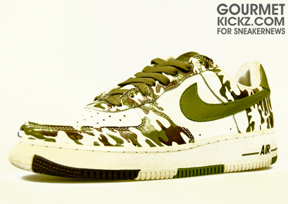 Nike Air Force 1 Bajo  Camuflaje Verde Blanco dBz6U8J exclusivity