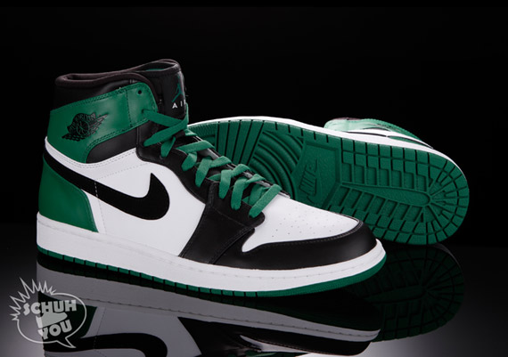 Air Jordan 1 Retro Bulls Celtics DMP Package shoes