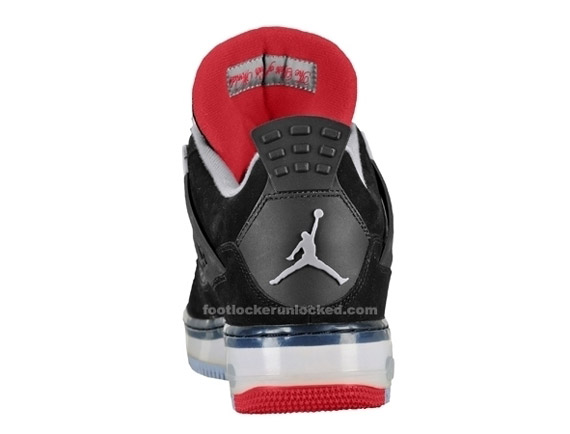Fusion Air Jordan 4 Noir Fac Enfant Furtif Rouge lwTcjBe