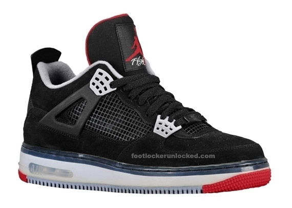 Air Jordan Force Fusion IV (4) - Black - Varsity Red - Stealth - New ... e8df0657a