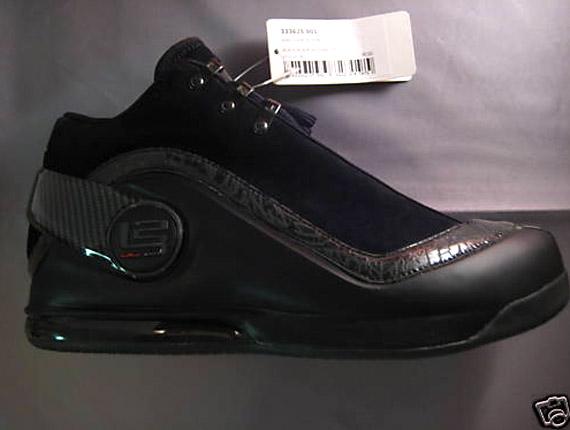 Nike Zoom LeBron Power VI - Black - Anthracite - Sample ... 89f14dc48