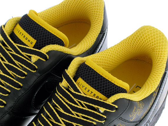 Nike LIVESTRONG x Busy P Air Force 1 Release Reminder