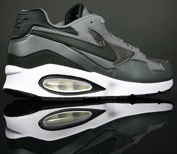 Nike Air Max ST White Black Hot Red + Dark Grey