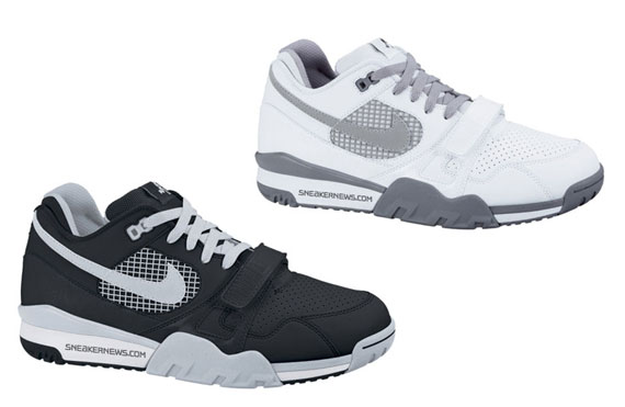 86c1728021157 Nike Air Trainer TW II - Tecmo Bo - Black - Silver + White - Grey ...
