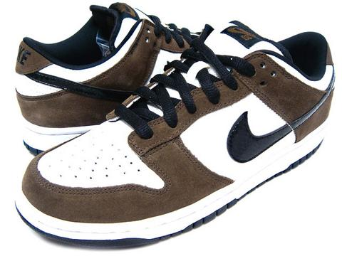 nike dunks low brown