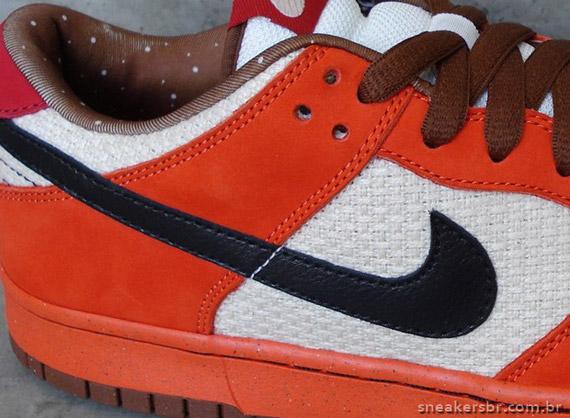 beedcab82f9 Nike SB Dunk Low - Un-Hemp - Orange - Holiday 2009 - SneakerNews.com
