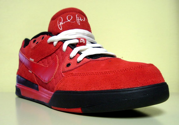 abf52bdb8bc Nike SB Zoom Paul Rodriguez 3 (P-Rod III) - Sport Red - Black ...