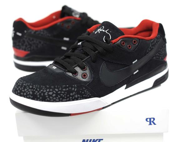 collo di bottiglia Stella Valutazione  Nike SB Zoom Paul Rodriguez 3 (P-Rod III) - Black - Red - Detailed Images -  SneakerNews.com