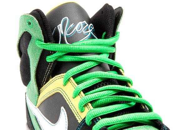 Nike Zoom Oncore High Green Black Yellow