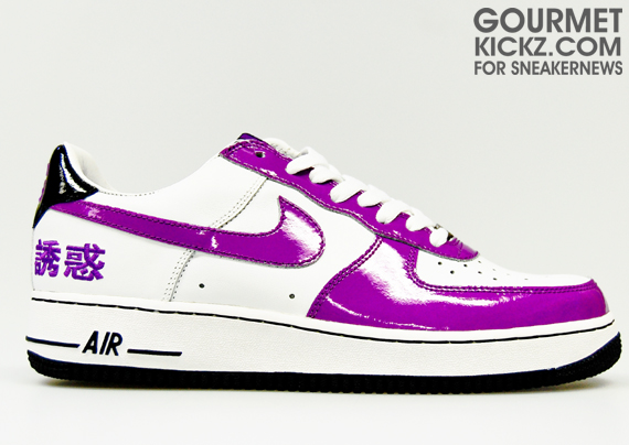 durable modeling Thursday Throwback 2005 Nike Air Force 1 Temptation  Chamber Of Fear e498ef641199