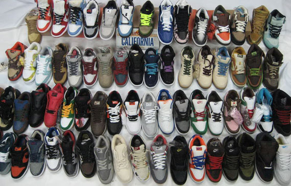 One of the few SB Dunk collections featured here – peep this group from  Power Z. e61228f236