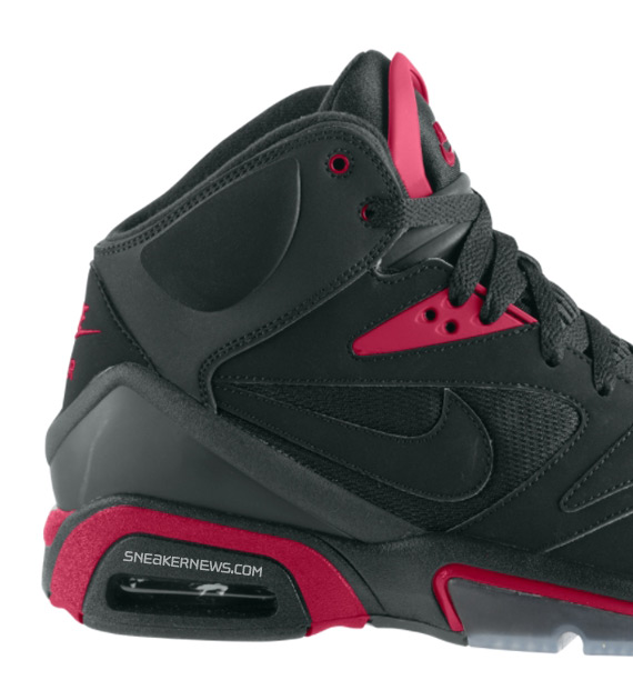 quality design e604a fe8c3 Nike Air Hoop Structure Black Varsity Red September 2009 free shipping