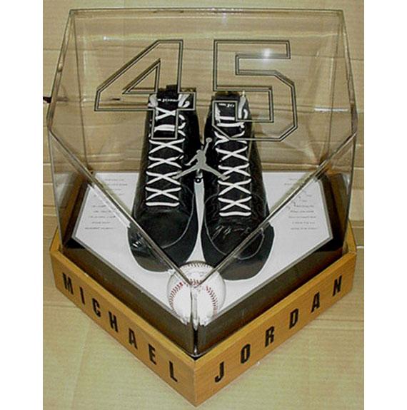 fa77a3314a4c Air Jordan IX (9) Baseball Cleats - Michael Jordan 45 PE ...