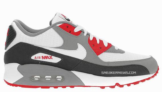 Nike Air Max 90 - Sport Jd Esclusivi - Nero / Rosso yyukkQwiIt
