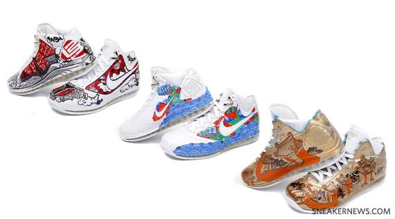 c85f34613dd new Nike Air Max LeBron VII More Than A Game Artist Series China ...